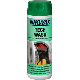 Nikwax Tech Wash 300 ml , vihreä